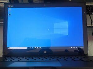 Fujitsu Q704 Tablet WIN10 PRO 128GB SSD 8GB RAM i5-4400u w/Keyboard & Dock- USED