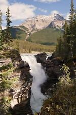 Athabasca Waterfalls Alberta Canada Journal : 150 Page Lined Notebook/diary...