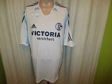"FC Schalke 04 Adidas Auswärts Trikot 2005/06 ""VICTORIA versichert"" Gr.XXL TOP"
