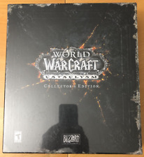 World of Warcraft Cataclysm Collector's Edition Brand New *Sealed*