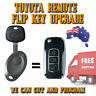 Toyota Landrcruiser + Corolla + Hilux Key Upgrade - Complete Key With Free Post