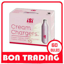 60 CREAM WEEPER CHARGERS BULBS ISI 6 PACK X 3   - SYDNEY