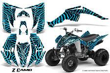 YAMAHA RAPTOR 350 GRAPHICS KIT CREATORX DECALS STICKERS Z CAMO BLI