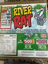 River Rat  Seal Card Game  1120  Entertainment Only Free Ship USA