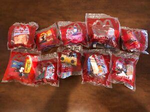 Mickey & Minnie's Runaway Railway McDonald's Happy Meal -Complete Set SEALED NEW