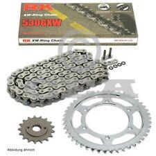 Kit chaîne Yamaha MT-01 05-12, chaîne RK 530 GXW 114, ouvrir, 17/39