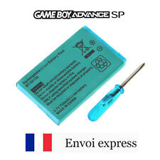 Batterie rechargeable 3,7V 750mAh Li-Ion neuf GBA SP [Battery Gameboy Advance]