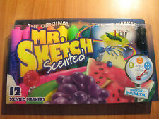 12 Pack of Mr Sketch Scented Markers  Assorted Scents  free post