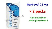BARBOVAL DROPS 2*25 ML БАРБОВАЛ BARBOVALUM for insomnia sedative