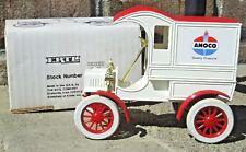 Ertl Ford 1905 Delivery Van Amoco Gasoline Fuels 1:25 Scale Die Cast Coin Bank