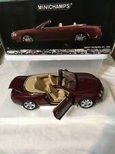 Minichamps 2006 Bentley GTC 1/18 Scale Rare Dark Red