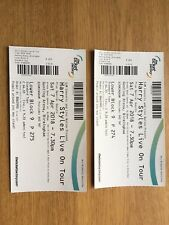 HARRY STYLES TICKETS BIRMINGHAM - SAT 7 APRIL 2018