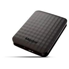 500GB Seagate Maxtor M3 Portable External HDD 1xUSB 3.0 Bus Powered Black