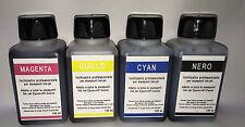 inchiostro YMCBK 4x100 ml, Epson, HP DELL Lexmark Canon Brother Inkjet Printers