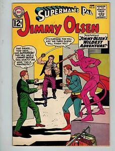 "Superman's Pal, Jimmy Olsen #61 (Jun 1962, DC) FN 6.0+ ! ""Jimmy Olsens Wildest"""