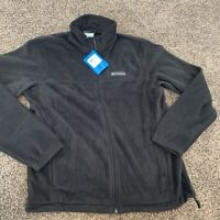 Mens Columbia Steens Mounatin Full Zip Jacket Black Size M Retail: $60