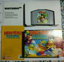 NINTENDO 64 DIDDY KONG RACING COMPLETE WITH BOX, INSTRUCTIONS ETC  NICE!