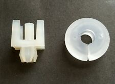 New FORD ESCORT Mk1 / Mk2  Bonnet Stay Grommet + White Bonnet Stay Clip