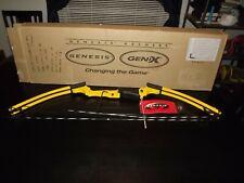 Genesis Archery Original Bow, Adjustable, Left Handed, Yellow - NIB