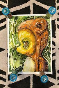 Jon Mess Of Dance Gavin Dance Mad Bear Art Print