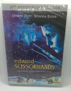 Edward Scissorhands DVD Region 4 10th Anniversary Edition