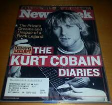 Newsweek Kurt Cobain On Cover/Dec 20,2002/In Protective Plastic Since/Nirvana