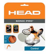 HEAD SONIC PRO ORANGE 16g - tennis string polyester racket racquet - Auth Dealer