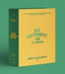 MONSTA X 2021 FAN-CONCERT [MX UNIVERSITY] DVD ALBUM K-POP SEALED NEW+TRACKING