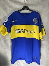 More details for 2012/13 boca juniors home jersey #10 roman riquelme nike soccer nike