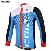 Maglia ciclismo uomo Bicicletta Maniche lunghe Mountain MTB Abbigliamento Maglia