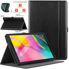 """Case For Samsung Tab A 10.1"""" T515/T510 (2019) 100% Real GENUINE LEATEHR Cover"""
