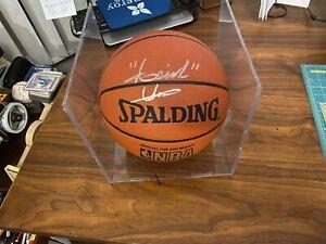 Isiah Thomas SIGNED  Basketball Detroit Pistons  AUTOGRAPHED HOF Mint  W/COA