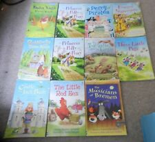 Usborne First Reading PB Books x 11 - Level 2 - 4
