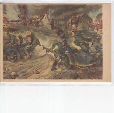 Deutsche Wehrmacht, Kradschützentruppe im Einsatz, Brennendes Dorf, II. WK