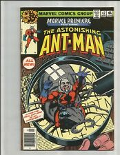 Marvel Premiere 47 and 48 (1979) 1ST APPEARANCE SCOT LANG (ANT-MAN) !!!   MOVIE!