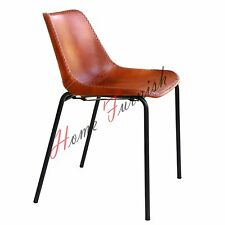 Leather Dining Chair Retro Style Leather Chairs Vintage Style Leather Chair