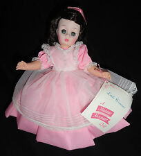 """Pretty Madame Alexander Beth #1321 of Little Women 11 """" Doll with Box Pink Dress"""