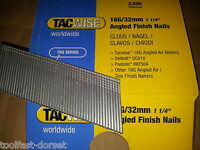 Tacwise 16 Gauge 20 Degree Angled Brads/Finish Nails. 32mm - 63mm