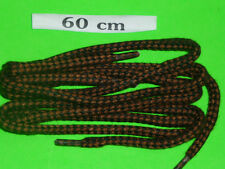 SHOELACES 60CM  CORD DK BROWN MULTI  FOR DRESS SHOES ** IN AUSTRALIA ** LACES