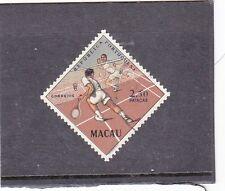 MACAO / MACAU GAMES (1962)    MNG   TOP VALUE SET