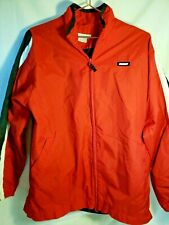 Nike  XL Youth 18/20 Windbreaker Jacket Red Black White Vintage