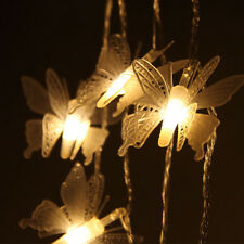 Elegant Butterfly Shape LED String Lights Room Garden Tree Ornaments Decorations
