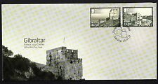 Gibraltar 2017 Europa Castles First Day Cover FDC