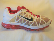 Nike Air Max Training Running Shoes Womens Sz 10 EUR 42 White Pink 429890-160