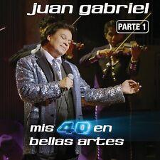 Mis 40 en Bellas Artes: En Vivo Desde Bellas Artes, México 2013, Vol. 1 by Juan