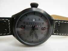 Invicta Men's I-Force Watch Gray Black 22188 Leather 45mm