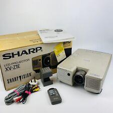 More details for sharp lcd projector xv-z1e sharp vision original box instructions home cinema