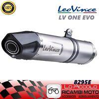 8295E TERMINALE LEOVINCE HONDA CBF 600 N 2005-2011 LV ONE EVO INOX/CARBONIO