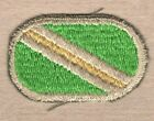 Army Airborne Oval Patch:  824th Quartermaster Company - cut edge