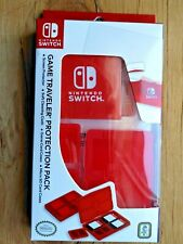 Nintendo Switch Protection Pack Screen Protector Cleaning Cloth Game Card Case